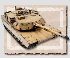M1A1HA Abrams (Operation IRAQI Freedom) Desert Color
