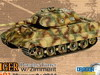 Dragon  King Tiger Porsche Turret w/Zimmerit sPzAbt 501 Normandy 1944